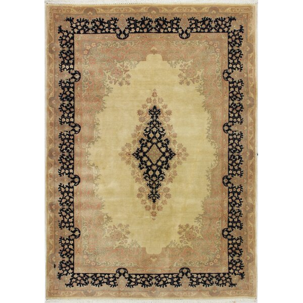 One-of-a-Kind Stubbeman Hand-Woven Wool Brown Area Rug by Astoria Grand