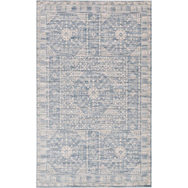 Phillip Light Blue Area Rug by Charlton Home