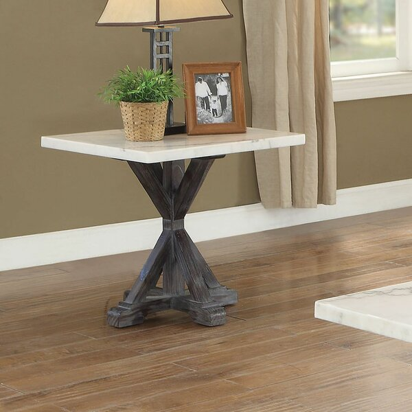 Alexandrea End Table by Gracie Oaks