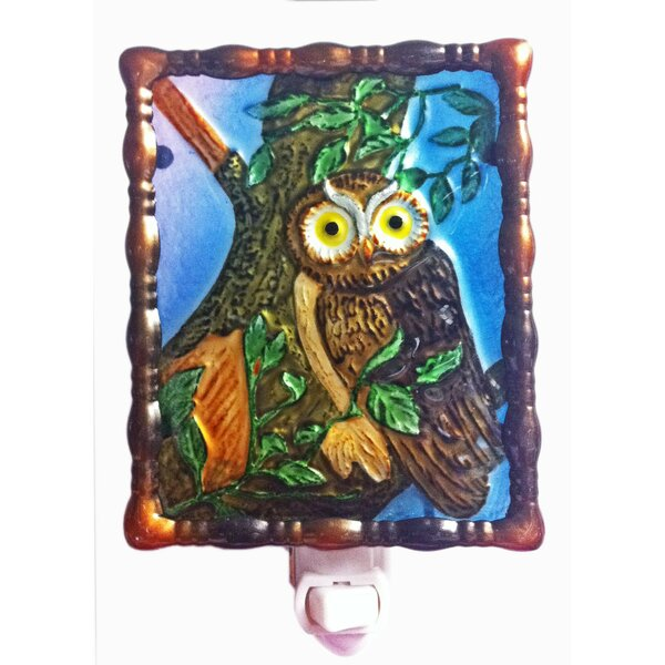 Owl Night Light by Continental Art Center