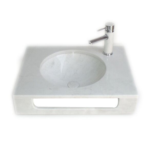 Pasadena 10 Wall-Mount Bathroom Sink with Overflow by Eviva