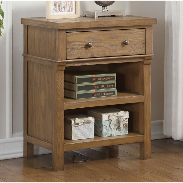 Jonas 1 Drawer Nightstand by Gracie Oaks
