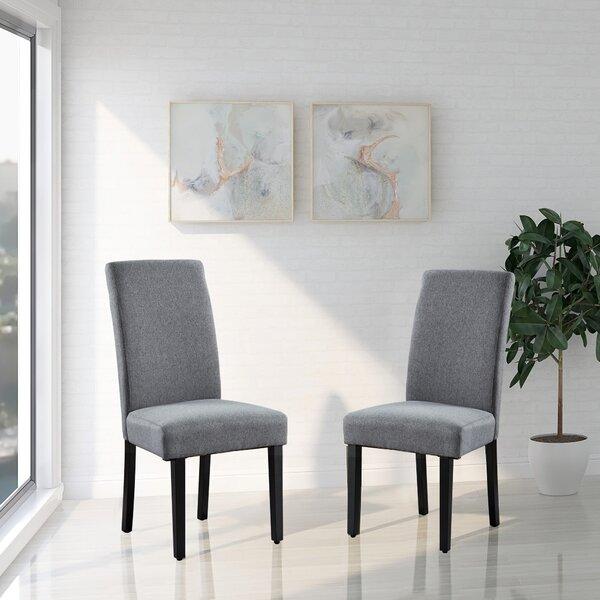 Septimus Upholstered Dining Chair (Set of 2) by Winston Porter Winston Porter