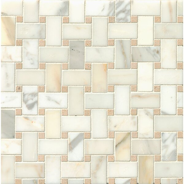 Marble Mosaic Tile in Ashbury by Grayson Martin