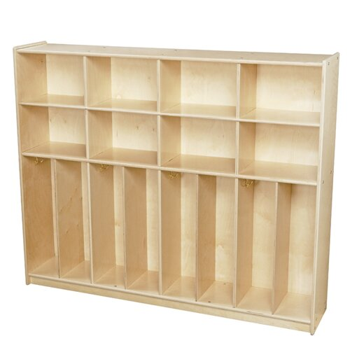 Clarendon 4 Section Coat Locker by Symple Stuff