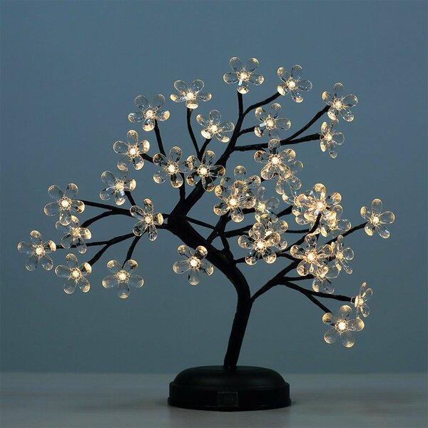 LED 36 Light Crystal Flower LED Bonsai Tree by Lightshare