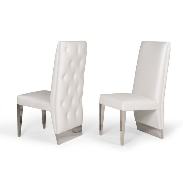 Statham Upholstered Dining Chair (Set of 2) by Orren Ellis