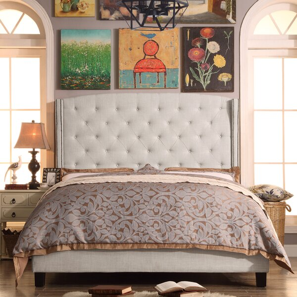 Destiny Upholstered Panel Bed by Willa Arlo Interiors