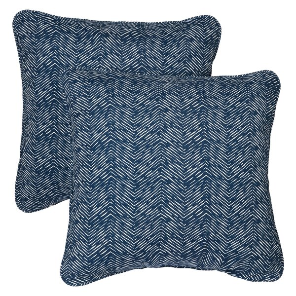 Midtown Indoor/Outdoor Throw Pillow (Set of 2) by Mercury Row