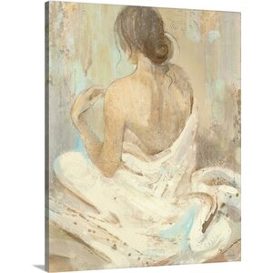 Abstract Figure Study II by Albena Hristova Painting Print on Wrapped Canvas by Great Big Canvas