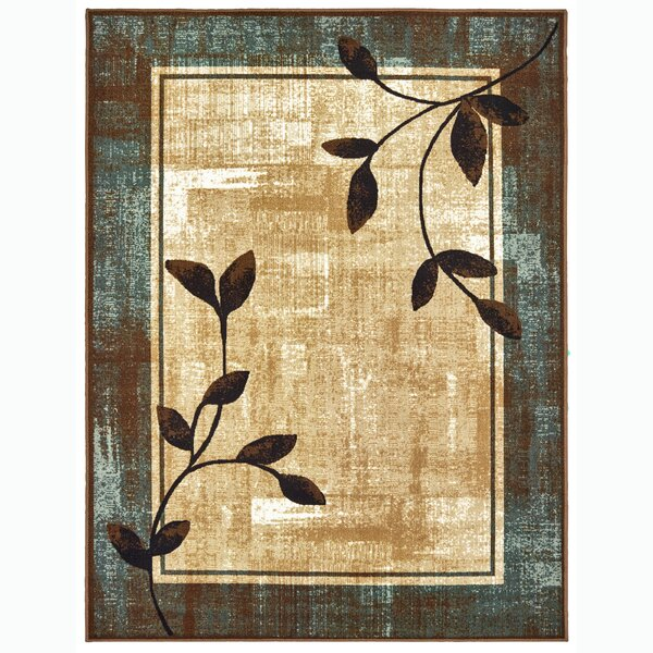 Faron Navy/White Indoor/Outdoor Area Rug by Winston Porter