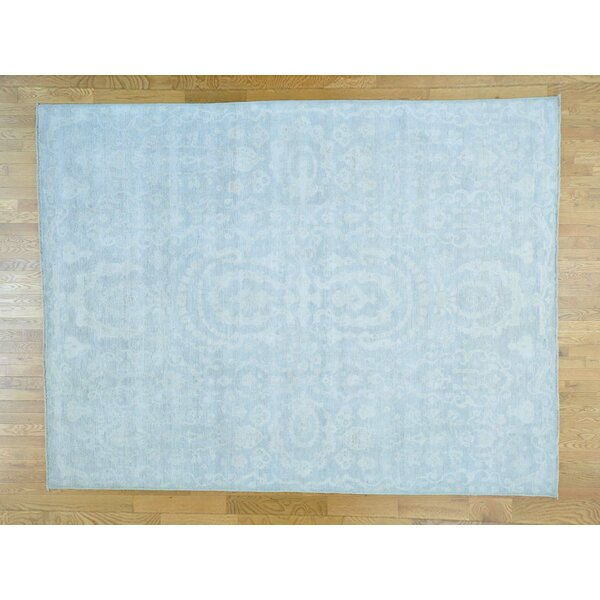 One-of-a-Kind Bearer Jewelry Design Hand-Knotted Wool Area Rug by Isabelline
