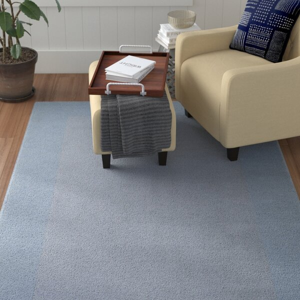 Bradley Hand Woven Silvered Gray Area Rug by Winston Porter
