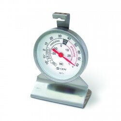 ProAccurate Heavy Duty Refrigerator/Freezer Thermometer by CDN