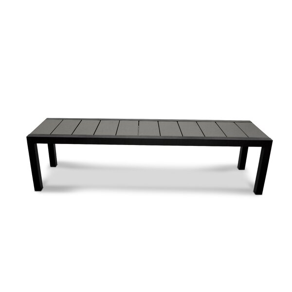 Trex Outdoor Surf City Aluminium Garden Bench by Trex Outdoor