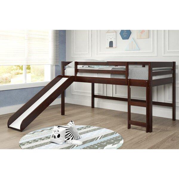 Brynne Twin Low Loft Bed by Harriet Bee