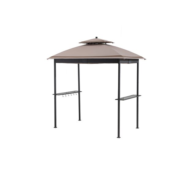 Replacement Canopy (Deluxe) for Wicker Grill Gazebo Wicker by Sunjoy