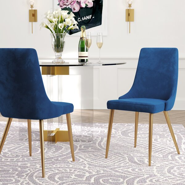 Check Price Neace Upholstered Dining Chair (Set Of 2)
