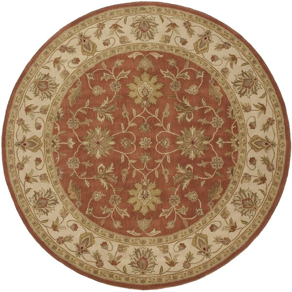 Stanford Terracotta Rug by Charlton Home