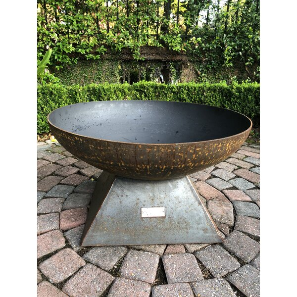 Pyramid Steel Wood Burning Fire Pit by Seasons Fire Pits
