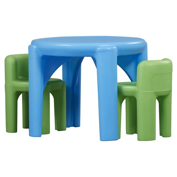 Kids 3 Piece Writing Table & Chair Set by Little Tikes