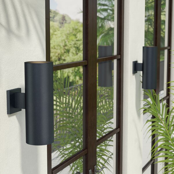 Zahara 2-Light Outdoor Sconce by Wade Logan