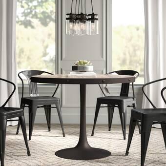 Greyleigh Amherst Industrial Dining Table & Reviews | Wayfair