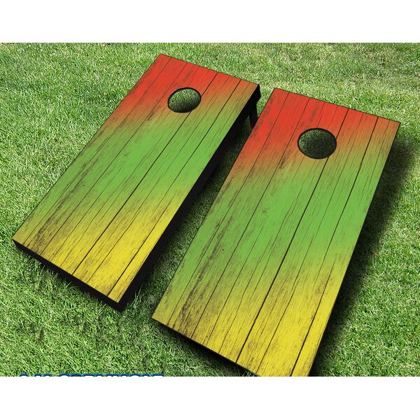 10 Piece Cornhole Set by AJJ Cornhole