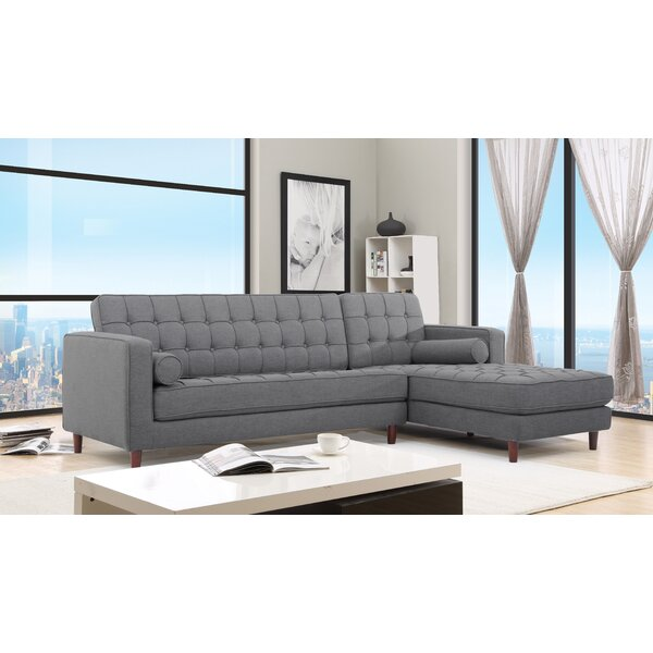 Ashcroft Imports Charles Sectional U0026 Reviews | Wayfair