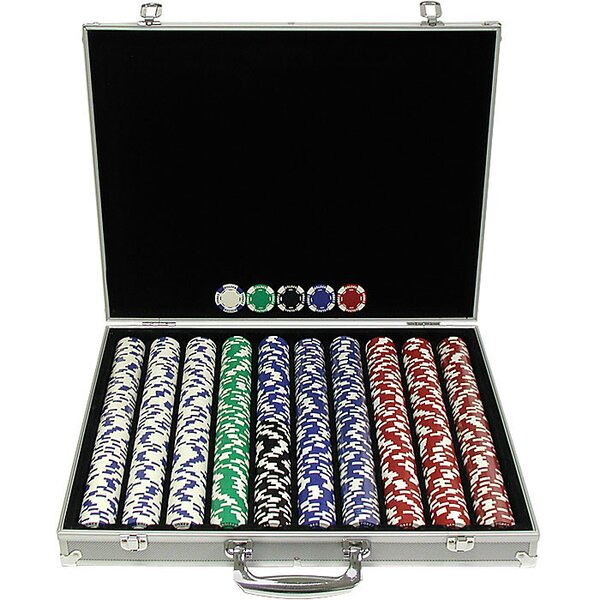 1000 Piece Holdem Poker Chip by Trademark Global