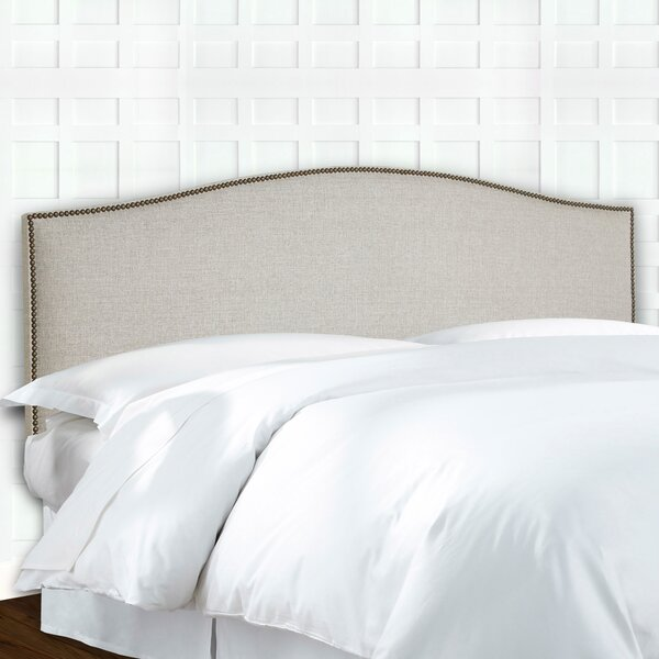 Eckert Upholstered Panel Headboard by Darby Home Co Darby Home Co
