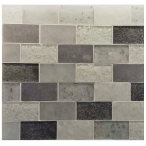 Lakeview 14″ x 16″ Glass Mosaic Tile in St Barth