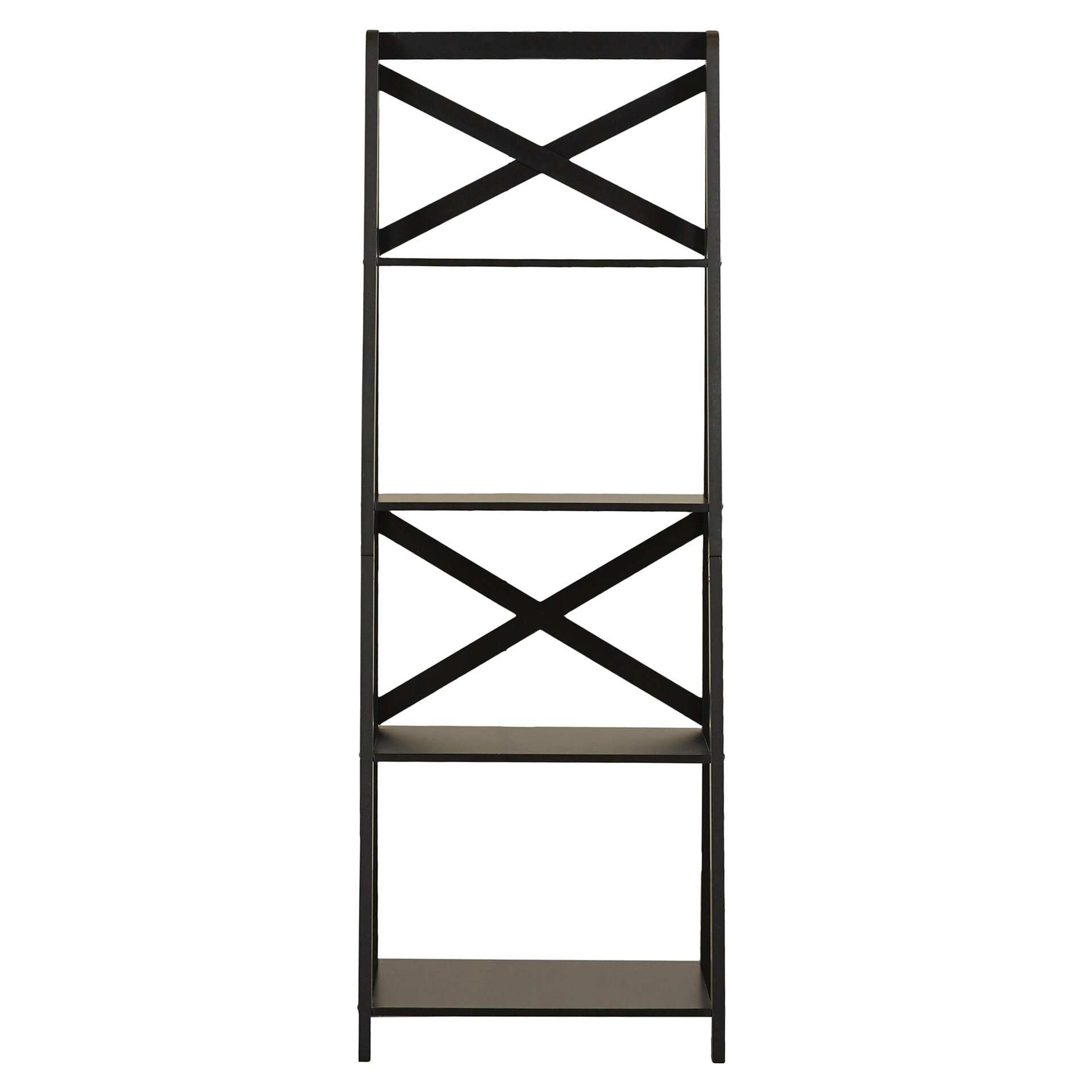Laurel Foundry Modern Farmhouse Kaitlyn Ladder Bookcase & Reviews -