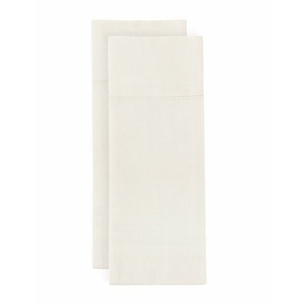 Quinney Self Hem 300 Thread Count Percale Sheet Set by One Allium Way