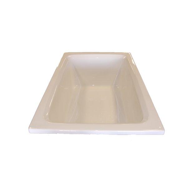 60 x 42 Rectangular Whirlpool Tub by American Acrylic