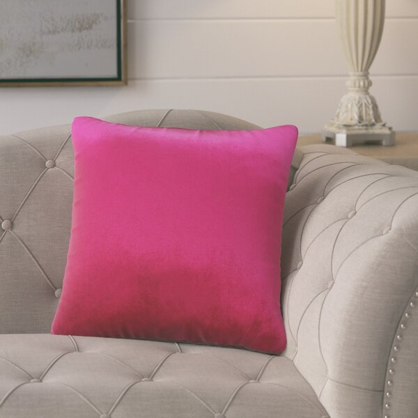 Pittenger Soft Luxury Velvet Throw Pillow by Gracie Oaks| @ $23.99