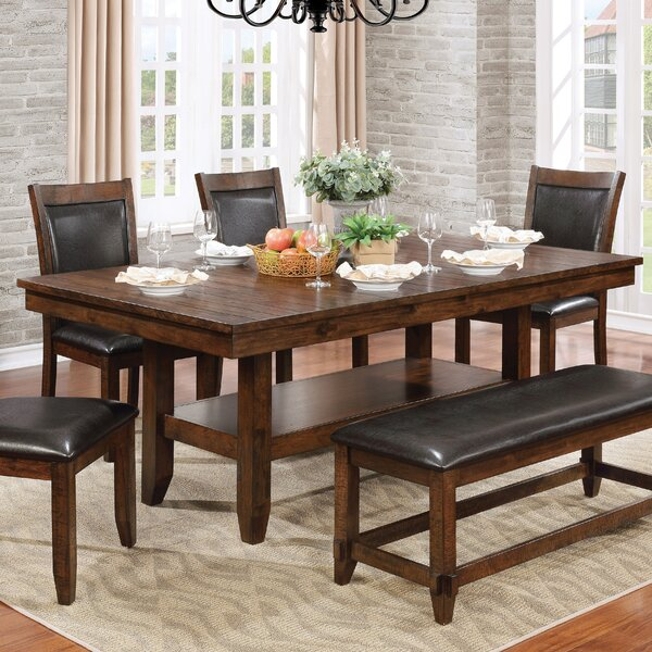 Electra Lambert Dining Table by Loon Peak Loon Peak