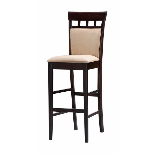 Gagner Comfy Upholstered Panel 31 Bar Stool (Set of 2) by Red Barrel Studio