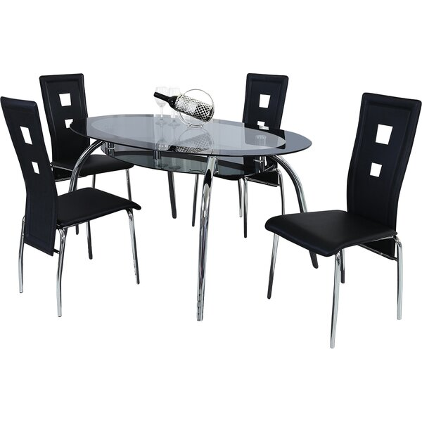 Brookview 5 Piece Dining Set by Orren Ellis