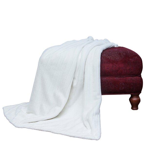 Soraya Faux Fur Throw Blanket by Union Rustic