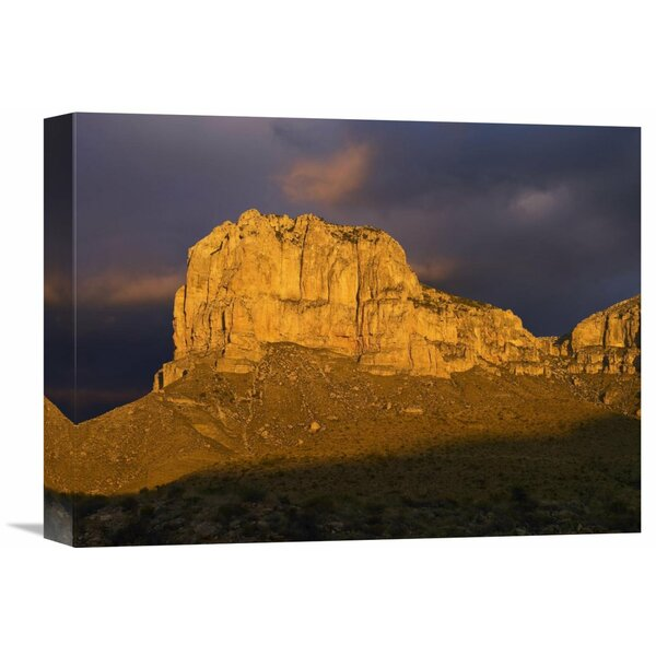 Nature Photographs El Capitan, Guadalupe Mountains National Park, Texas by Tim Fitzharris Photographic Print on Wrapped Canvas by Global Gallery