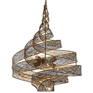 Savings Dream 6-Light Geometric Pendant By Bloomsbury Market