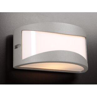 Seo 1-Light Outdoor Flush Mount By Latitude Run Outdoor Lighting