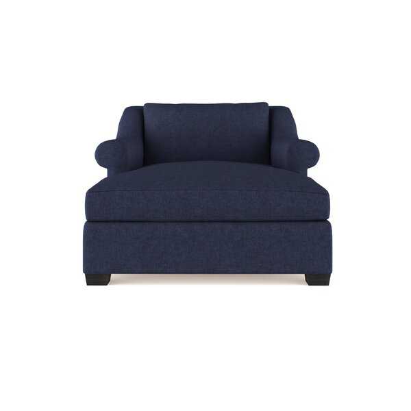 Auberge Velvet Chaise Lounge By Canora Grey