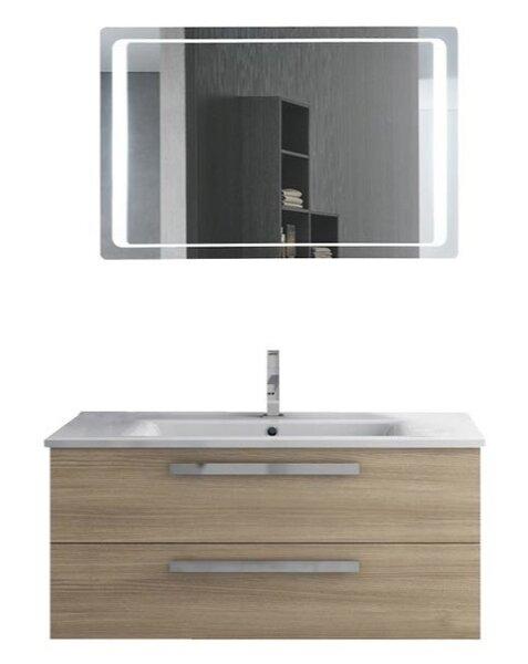 Levasseur 39 Single Bathroom Vanity Set with Mirror