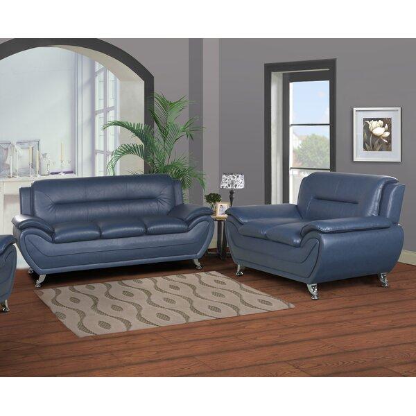 Polston Modern 2 Piece Living Room Set by Latitude Run