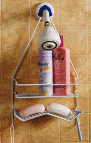 Large Head Shower Caddy by Zenith Products