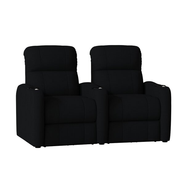 Home Theater Recliner (Row Of 2) By Latitude Run