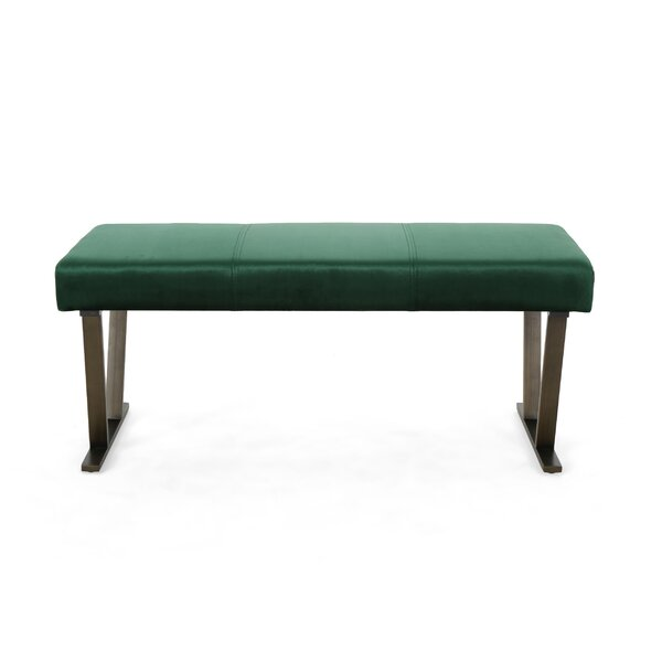 Diboll Upholstered Bench by Wrought Studio