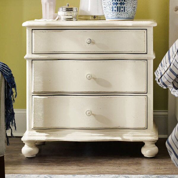 Sandcastle 3 Drawer Nightstand by Hooker Furniture